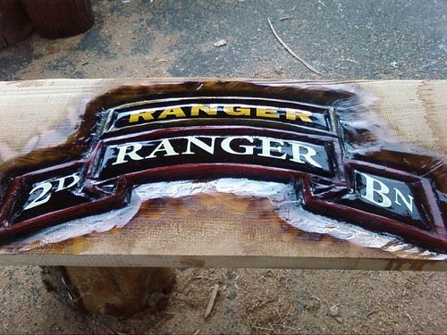 Chainsaw carved th ranger